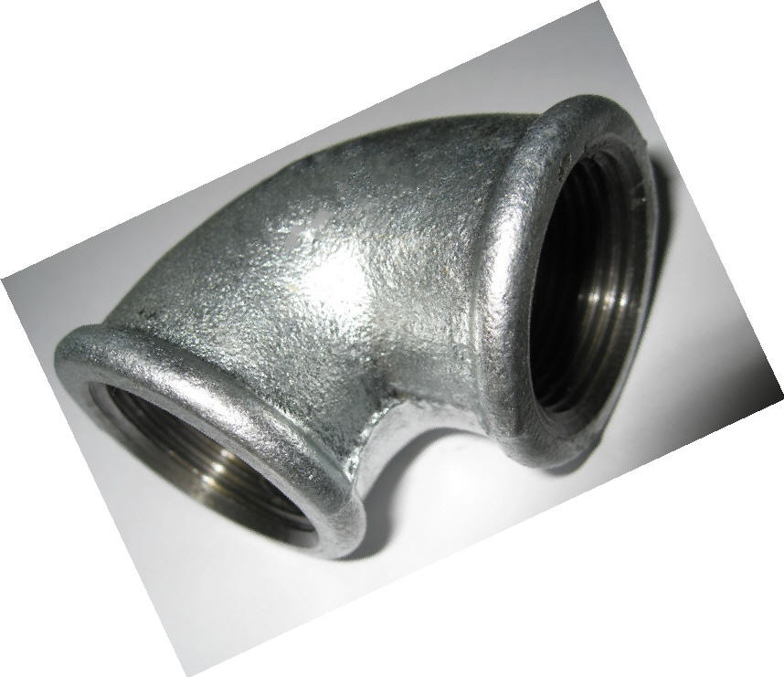 Malleable iron pipe fittings